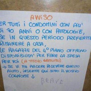 Incontri ‒ Franco, il cioccolato fondente e la spesa a Santa Croce durante il lockdown