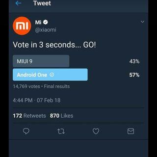 Arrancamos la semana con , La encuesta que no le gusto a #Xiaomi y la borró , #Mediatek y #Google acuerdan #AndroidGo  ... Y más
