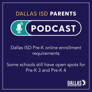 PK enrollment requirements and open spots