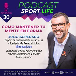 Cómo superar un ictus con deporte y buenos hábitos de vida: la historia de Julio Agredano