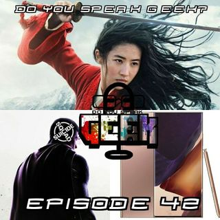 Episode 42 (DC FanDome, Suicide Squad Game, Mulan, PlayStation State of Play, Samsung Note 20 Ultra and more)