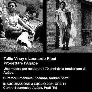 "Mostra ""Tullio Vinay, Leonardo Ricci: progettare l'Agàpe"""