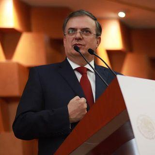 Ebrard acude a asunción de presidente en Uruguay