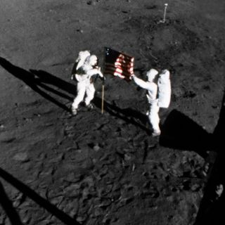 Apollo and the Future of Humans in Space