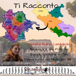 Sportello Antiusura al Municipio XIII, intervista all'Assessore Serena Maria Candigliota