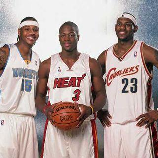 Analisi Draft NBA dal 2001 al 2003: l'arrivo del King!