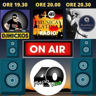 """Radio 40 """" Before The Night """" Mercoledi' Sera 17/02/2021"""