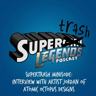Supertrash Minisode: Interview with Artist Jordan of Atomic Octopus Designs