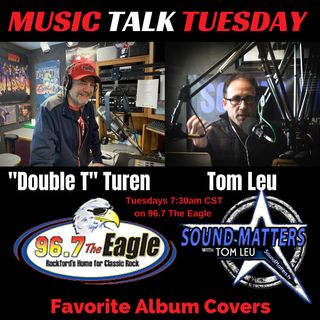 (Music Talk Tuesday): Favorite Album Covers