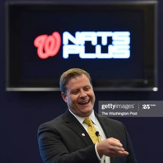 """David McElwee Washington Nationals """"The Lost Ticket Sales Tuesday Interviews"""" archived flashback"""
