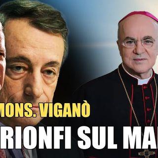 "Mons. Viganò: ""Resistere contro la violenza del regime"""