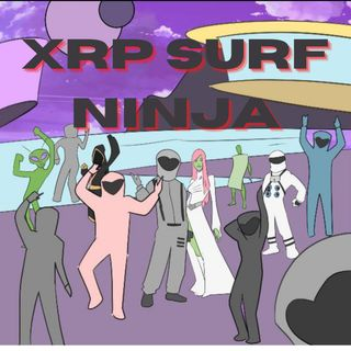 XRP Cant See Me By XRP Surf Ninja