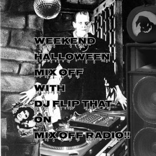 WeekEnd Halloween Mix Off 10/30/20 (Live DJ Mix)
