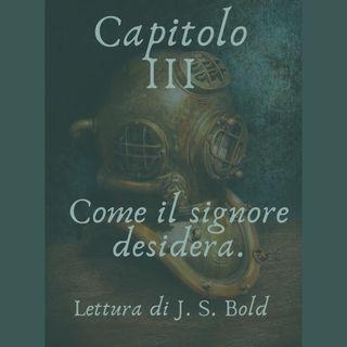 Capitolo III - Come il signore desidera.