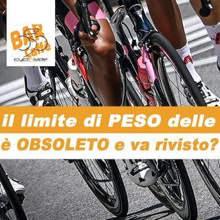 È superato il limite di peso delle biciclette da corsa?