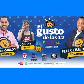 El Gusto de las 12-Episodio 76- 14 Octubre-2019 Tony Pascual Pachuly