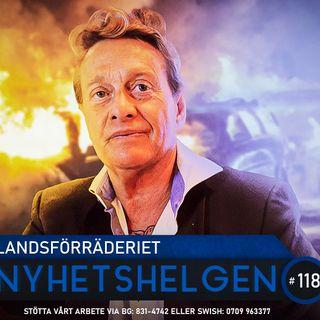 Nyhetshelgen 118 – Landsförräderiet, Facebookcensur, politiskt kaos