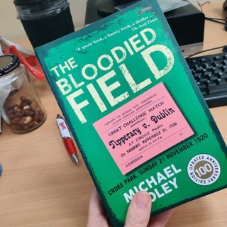 Journalist Michael Foley discusses the updated edition of 'The Bloodied Field'