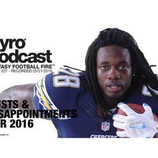Fantasy Football Busts & Disappointments for 2016 - Show 227