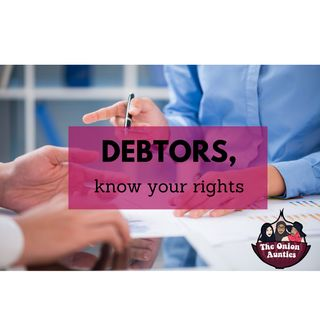 """Episode 41: Can a debtor be """"bullied"""" by creditors?"""