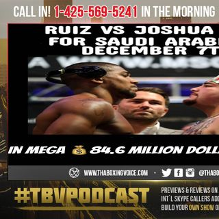 ☎️Anthony Joshua vs Andy Ruiz Jr🔥in 🇸🇦Saudi Arabia💰💲84.6M💵Dollar POT😱