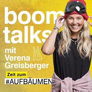 #4 Boom Talks mit Verena Greisberger über nachhaltige Outdoor Mode & active Lifestyle