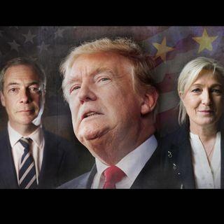 TrumpEffect Marine Le Pen #MFGA - Wikileaks False Flag - Hillary Clinton Goes Away