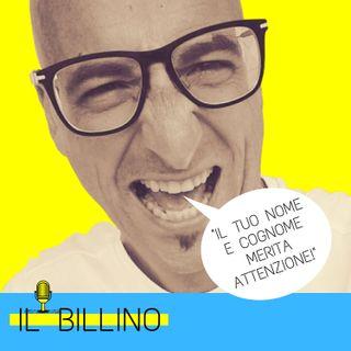 """ep. 01 - Presentazione de """"il BILLINO"""" a cura di Marco BILLO Pelizzari"""