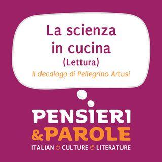 11_Lettura - La Scienza e l'Arte in Cucina