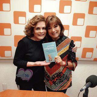 """Mara Patricia Castañeda llegó a cabina para contarnos los detalles del libro """"Un Extraño Palpitar""""."""