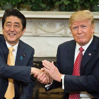 Japanese PM Abe Praises President Trump
