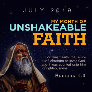 ABRAHSM FAITH OR UNSHAKEABLE FAITH