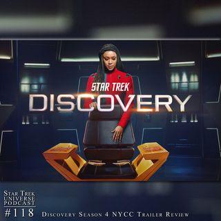 Star Trek: Discovery Season 4 NYCC Trailer Review
