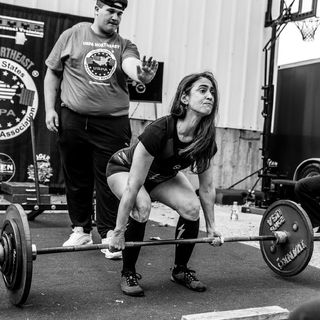 Episode 7- Miriam Lawrence. Lifting As A Female Masters Athlete