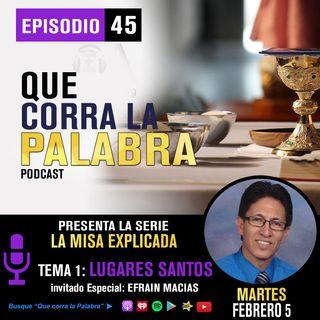 QCLP LA MISA 1.LUGARES SANTOS