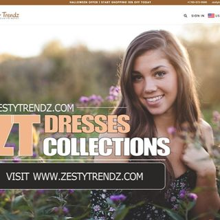 Zesty Trendz casual dresses, formal, maxi & western dresses collection
