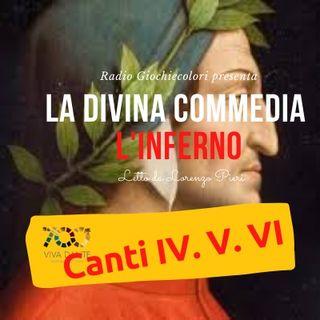 02 - Inferno (Divina Commedia - Dante Alighieri) Canti 4-5-6