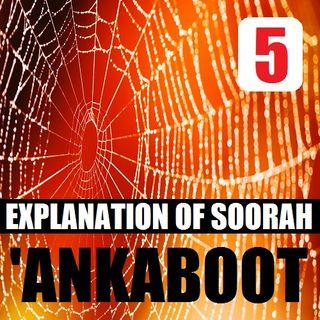 Soorah al-'Ankaboot Part 5: Verses 28-40