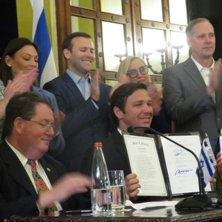 Ron DeSantis Signs Bill Banning Antisemitism in Schools +