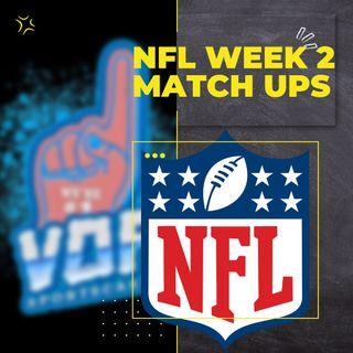 NFL Week 2 Matchups
