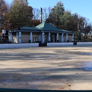 Crews Prepare Frog Pond Skating Rink For Tuesday Opening