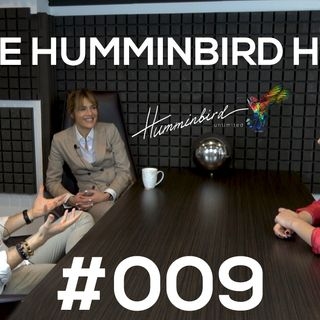 The Humminbird Hub #009 - Lorraine de Waziers with our hosts Julia Fetisova and Alex Roseman