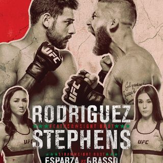 Preview Of The UFCONESPN Card Headlined By Yair Rodriguez-Jeremy Stephen's In Mexico!!Live On ESPN And BT Sport In The UK And Ireland!!!