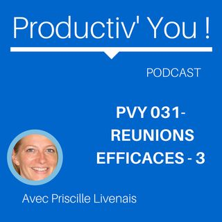 PVY EP031 REUNIONS EFFICACES 3