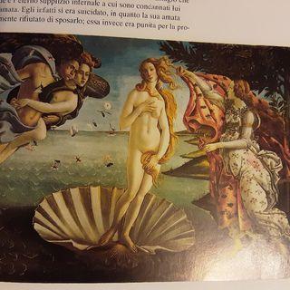 Rinascimento : la Venere del Botticelli un'icona dell'arte che nasconde l'allegoria neoplatonica dell'amore la  forza vitale