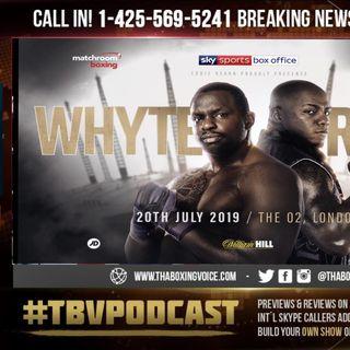 ☎️Breaking News🤯Dillian Whyte vs Oscar Rivas July 20th O2 Arena🇬🇧