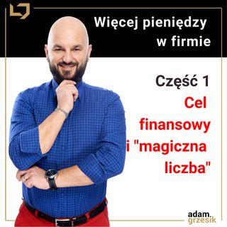"""Więcej pieniędzy w firmie: Cel finansowy i """"magiczna liczba"""" (Moduł 2 Lekcja 1)"""