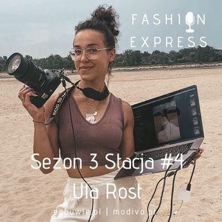 Sezon 3, Stacja 4: Czy fotograf mody musi się znać na modzie? Rozmowa z Urszulą Rost