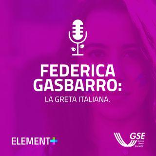 Federica Gasbarro: la Greta italiana.