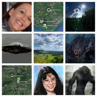 Vanished without trace, Missing People in Creature Sighting Areas Part 1